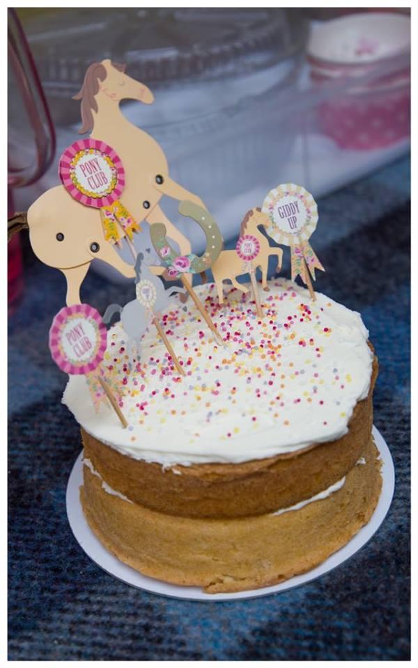 Pony Parties - A pony party birthday cake