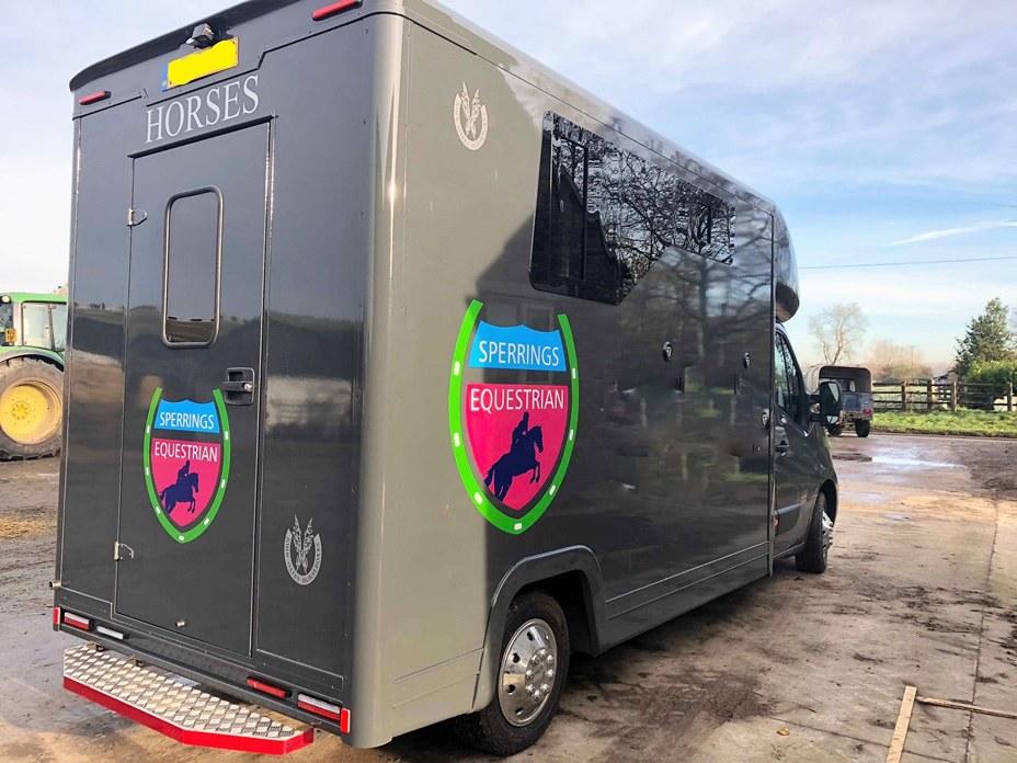 Transport - Our horsebox