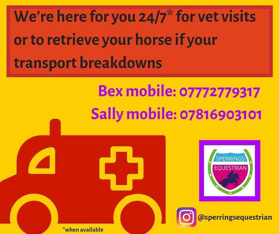 Transport - Our emergency travel flyer